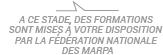 A CE STADE, DES FORMATIONS SONT MISES À VOTRE DISPOSITION PAR LA FÉDÉRATION NATIONALE DES MARPA