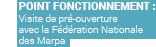 POINT FONCTIONNEMENT : Visite de pré-ouverture avec la Fédération Nationale des Marpa