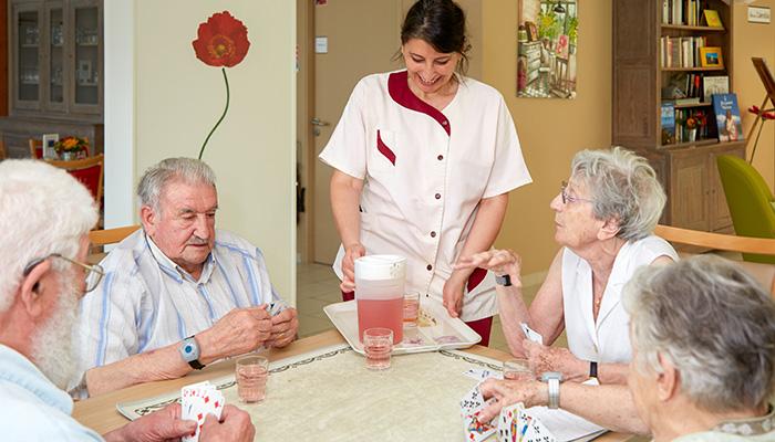 résidence personnes âgées